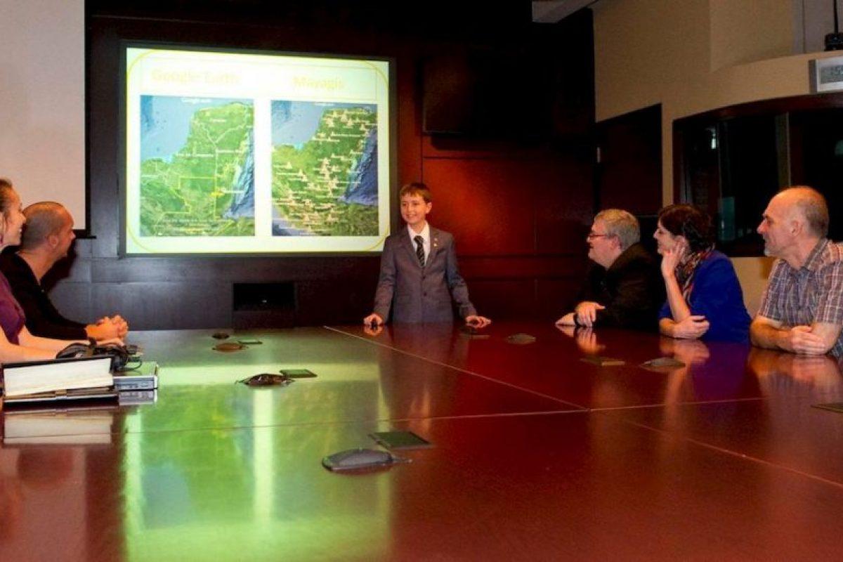 Incluso, fue invitado por la Agencia Espacial de Canadá para compartir lo descubierto Foto:facebook.com/CanadianSpaceAgency. Imagen Por: