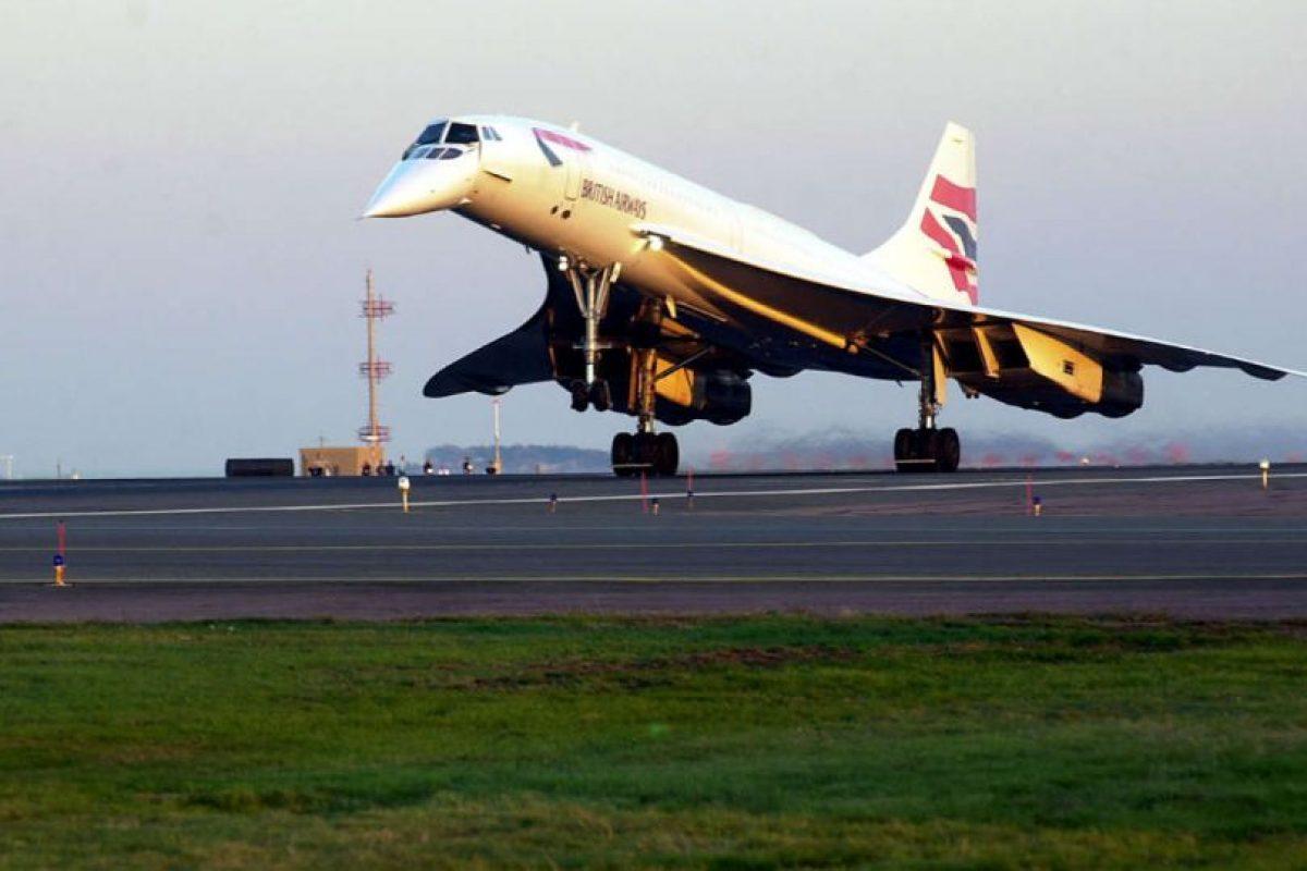 Los primeros diseños del Concorde estuvieron listos en 1960. Foto:Getty Images. Imagen Por: