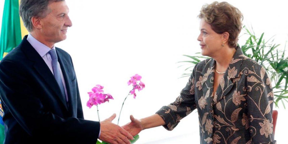 Argentina es el primer país en pronunciarse sobre la destitución de Rousseff en Brasil