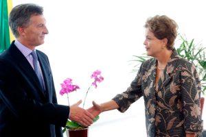 Mauricio Macri y Dilma Rousseff. Foto:Efe. Imagen Por: