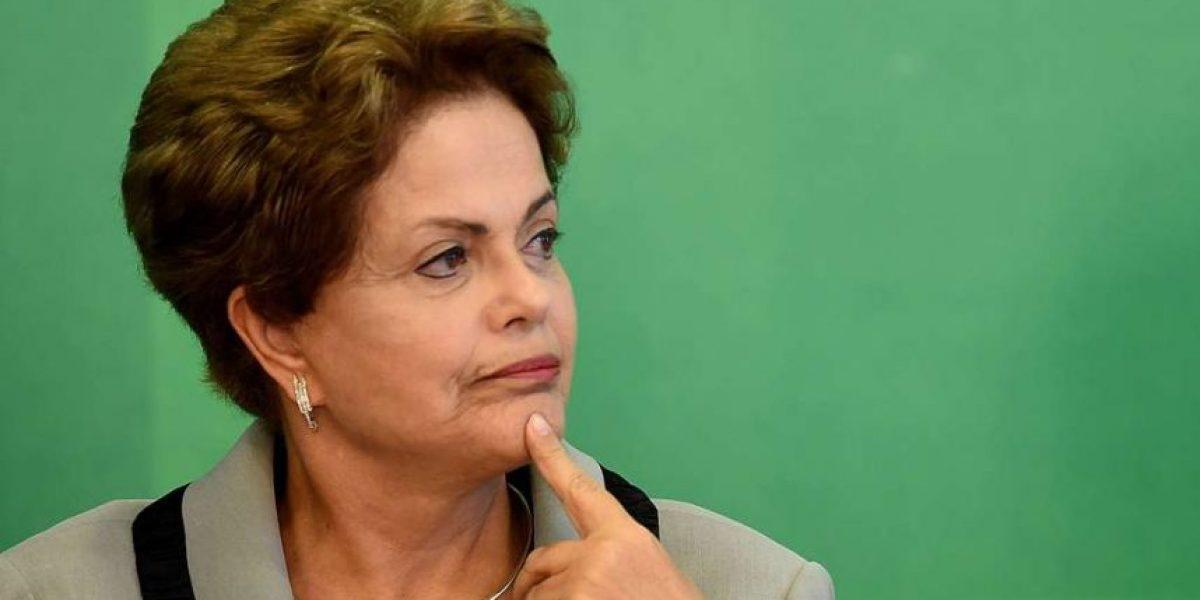 Dilma Rousseff tras ser suspendida por el Senado: