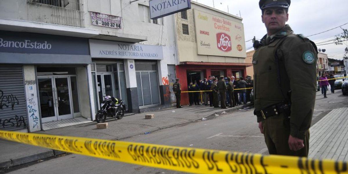 Violento asalto en San Ramón: balean a cliente de banco para robarle $14 millones