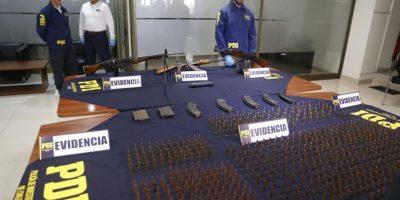 La Granja: PDI incauta armamento con alto poder de fuego