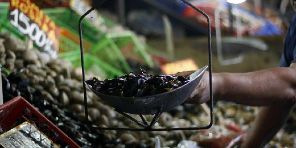 Ferias libres aseguran que ventas de pescados y mariscos han caído hasta un 70%
