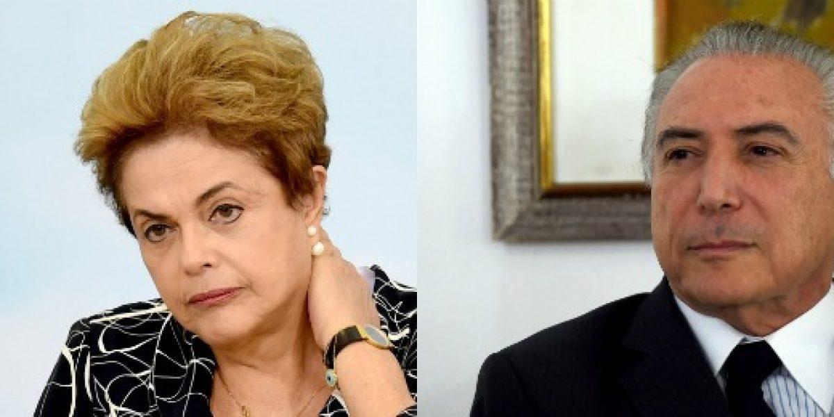 Vicepresidente de Brasil asume cargo de Dilma con el desafío de levantar una economía noqueada