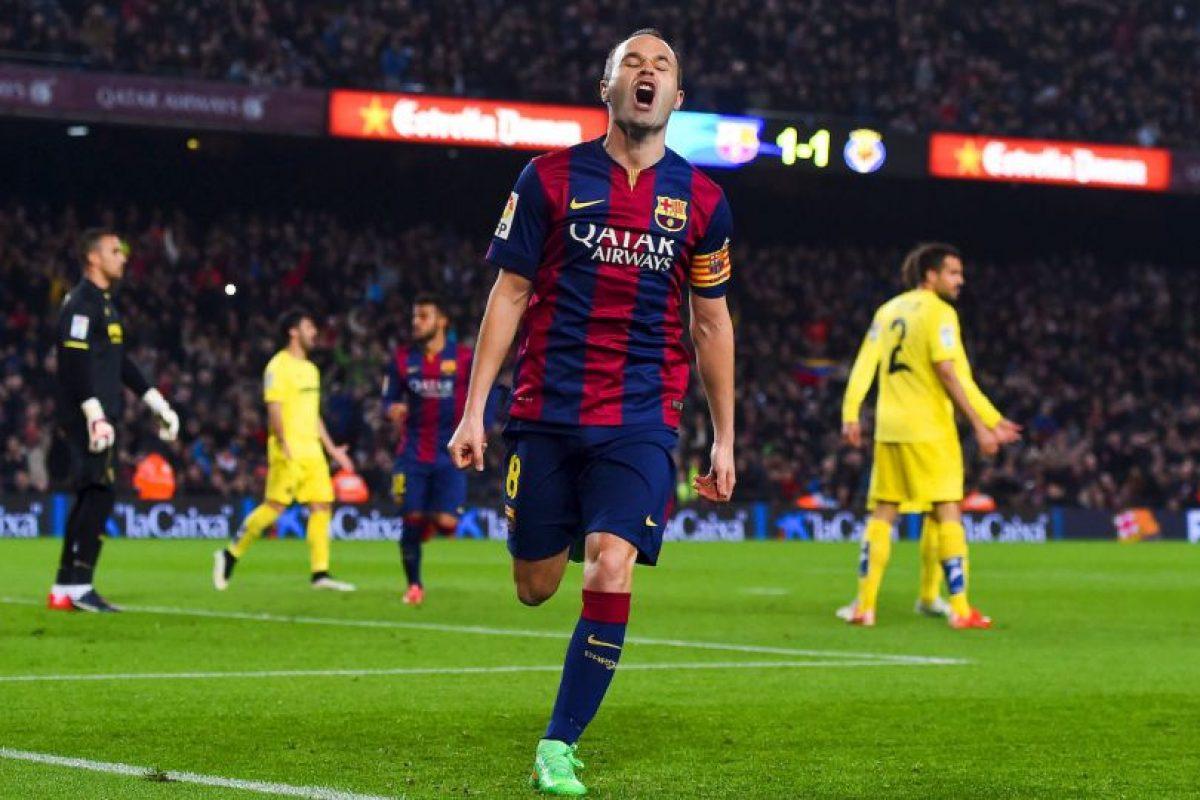 Andrés Iniesta: 13 Foto:Getty Images. Imagen Por: