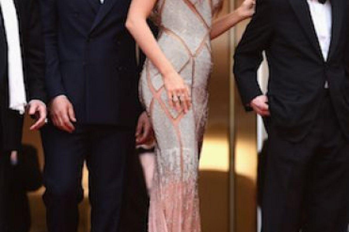 Este fue el segundo vestido que usó en su presentación. Foto:Getty Images. Imagen Por: