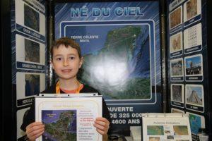 Presentó su proyecto en Quebec en julio de 2014, cuando tenía 15 años Foto:Exposciences.qc.ca. Imagen Por: