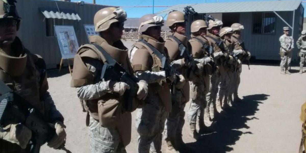 Así es la supuesta base militar con