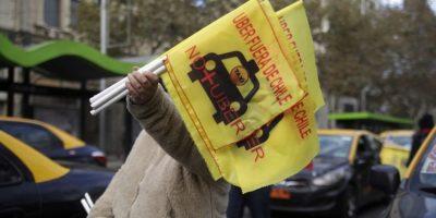 Con la entrega de una carta en La Moneda finalizó paro de taxistas contra Uber