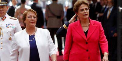 """Gobierno se declara """"preocupado"""" por suspensión de Rousseff en Brasil  y alude al Estado de Derecho"""
