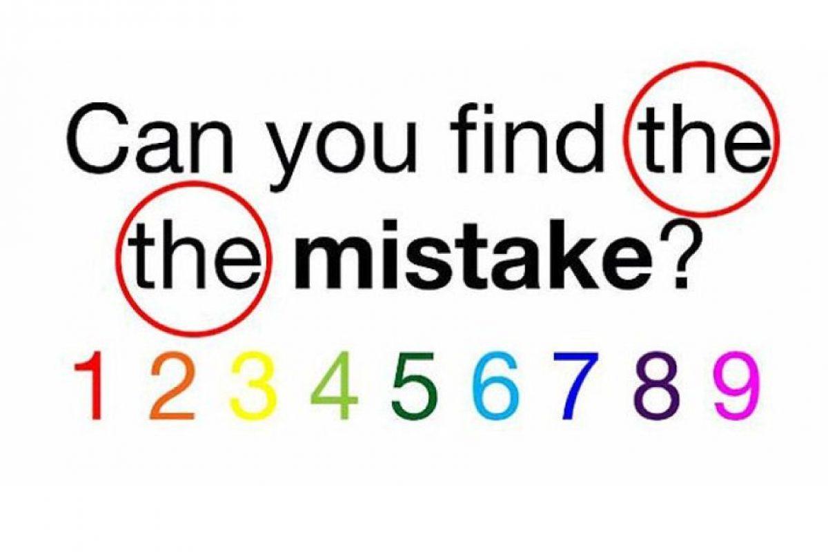 """Se repite dos veces la palabra """"The"""" Foto:Playbuzz. Imagen Por:"""