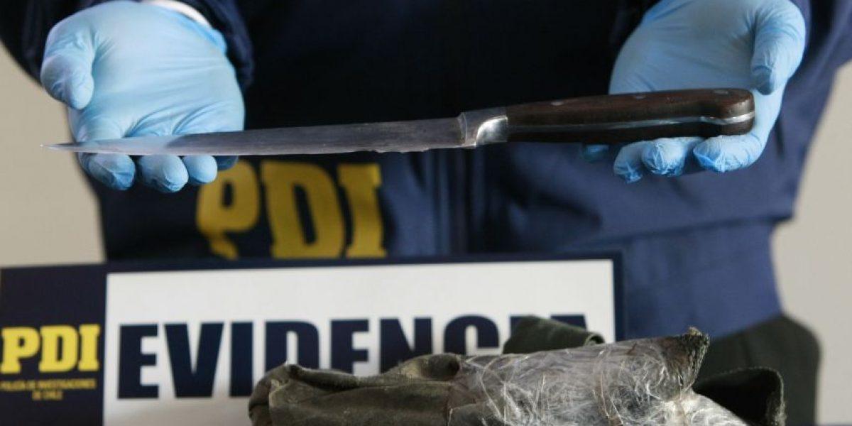 Personal de la PDI socorrió a hombre apuñalado por su mujer en Valparaíso