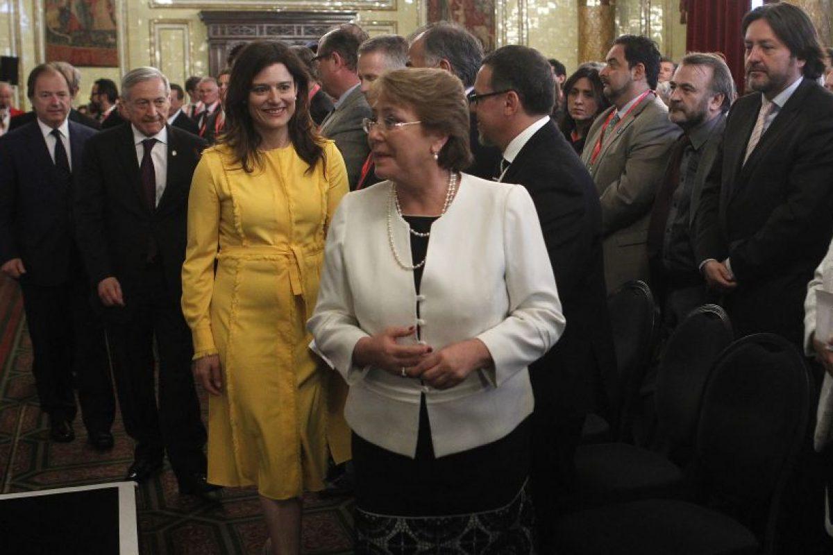 Presidenta Michelle Bachelet Foto:Agencia Uno. Imagen Por:
