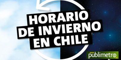 Infografía: horario de invierno en Chile