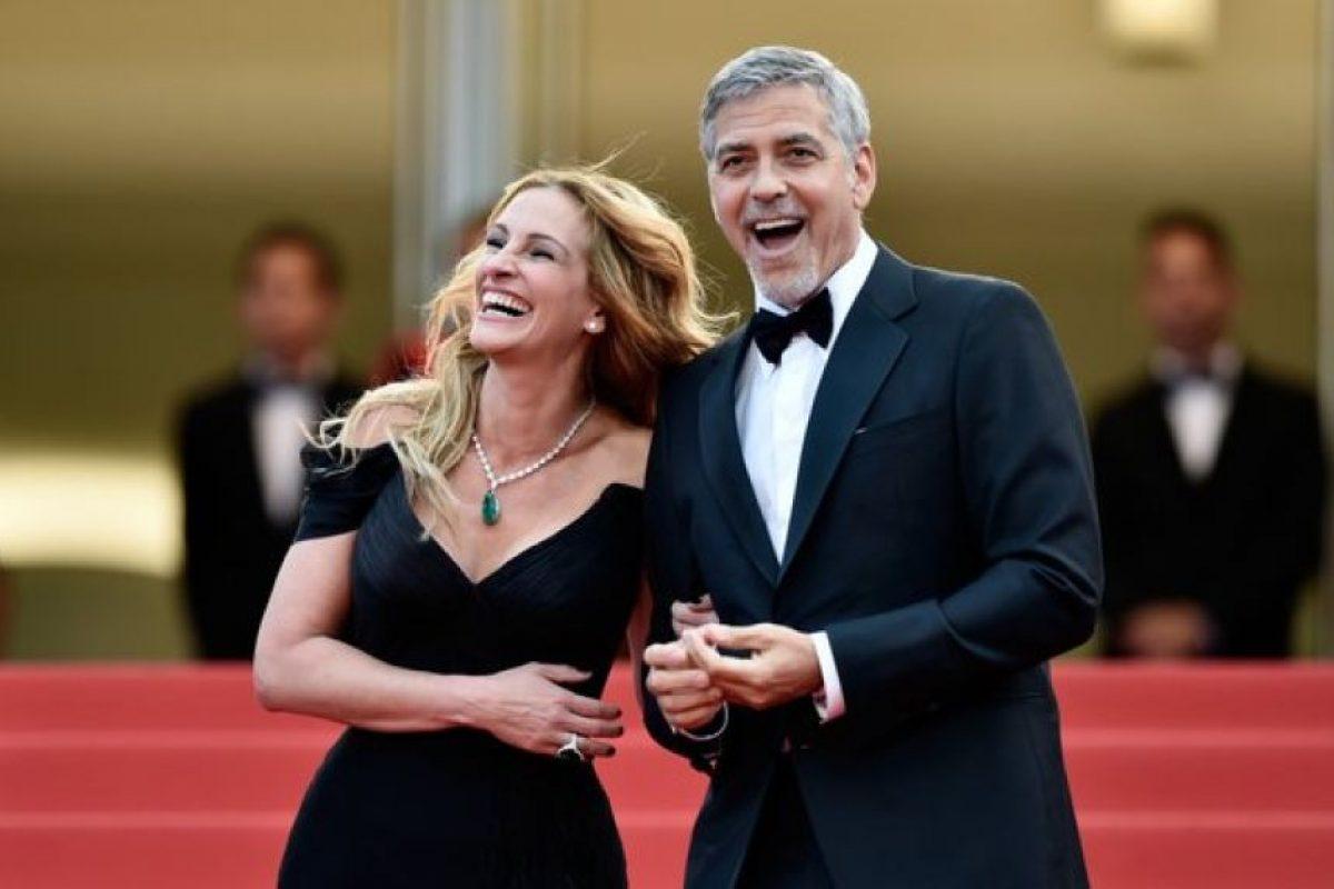 Se presentó junto a George Clooney Foto:Getty Images. Imagen Por: