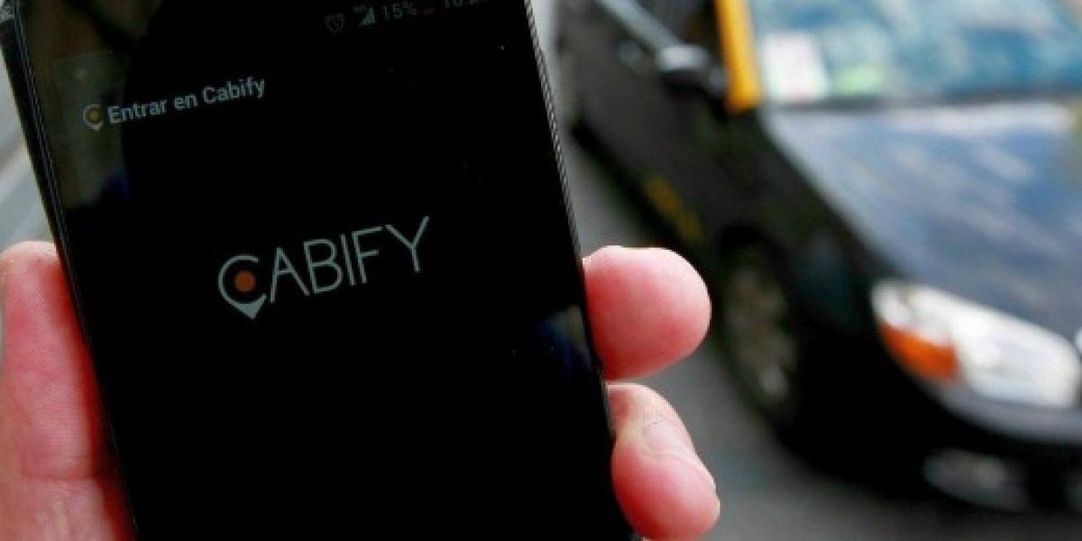 Cabify entra de lleno en V Región y triplica su oferta en un mes