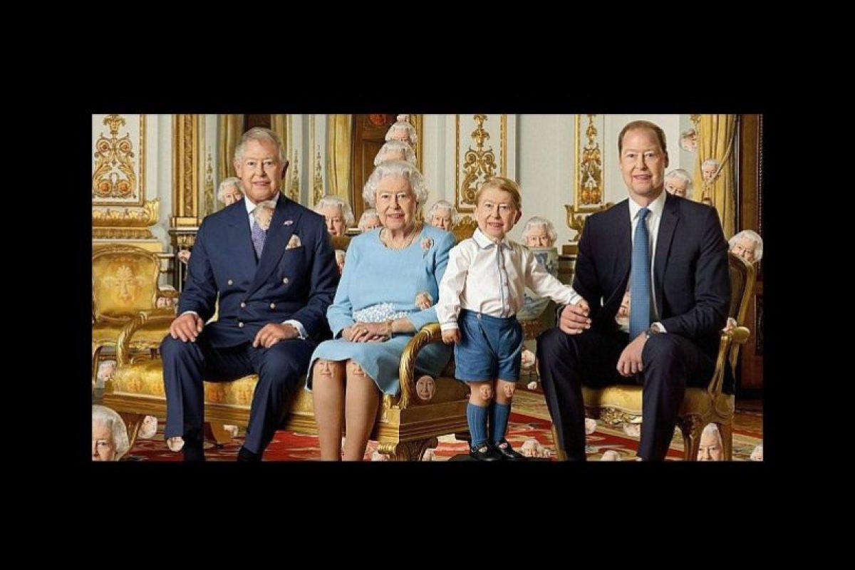 ¿Pueden ver las 90 caras de la reina Isabel II? Foto:Twitter. Imagen Por: