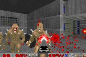 """""""Doom"""" fue y sigue siendo notorio por sus altos niveles de violencia e imágenes satánicas Foto:Wikicommons. Imagen Por:"""