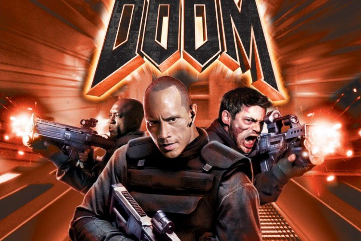 """""""DOOM"""" llegó al cine en una película de ciencia ficción basada libremente en la popular saga de videojuegos. No fue un éxito en taquilla Foto:Universal Studios. Imagen Por:"""