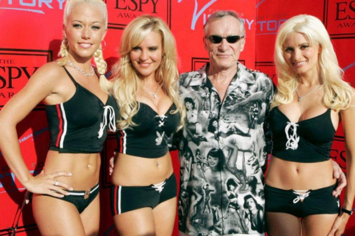 """O """"Girls Next Door"""". Y la época en que se lanzó fue la última gloriosa de Playboy. Foto:vía E!. Imagen Por:"""