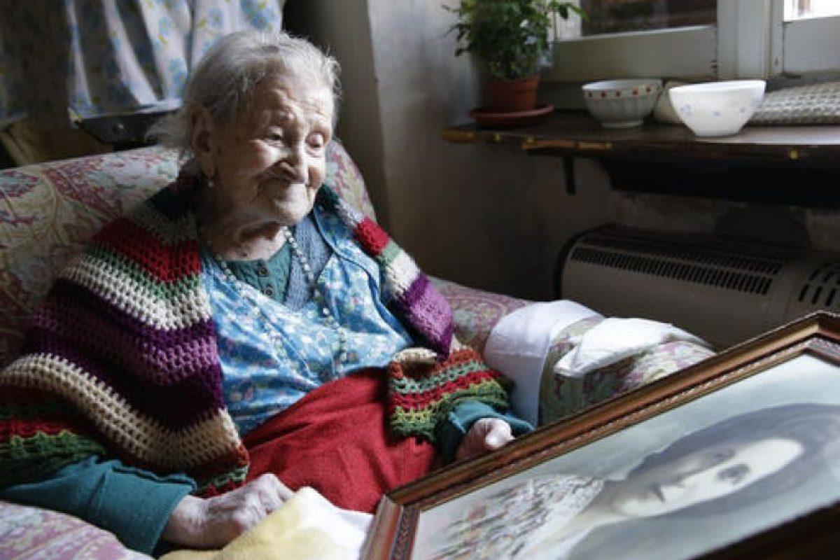 Es tan sólo 4 meses y medio menor que la difunta Susannah Mushatt Jones. Foto:AP. Imagen Por: