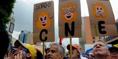 El gobierno venezolano intenta impedir el referendo revocatorio