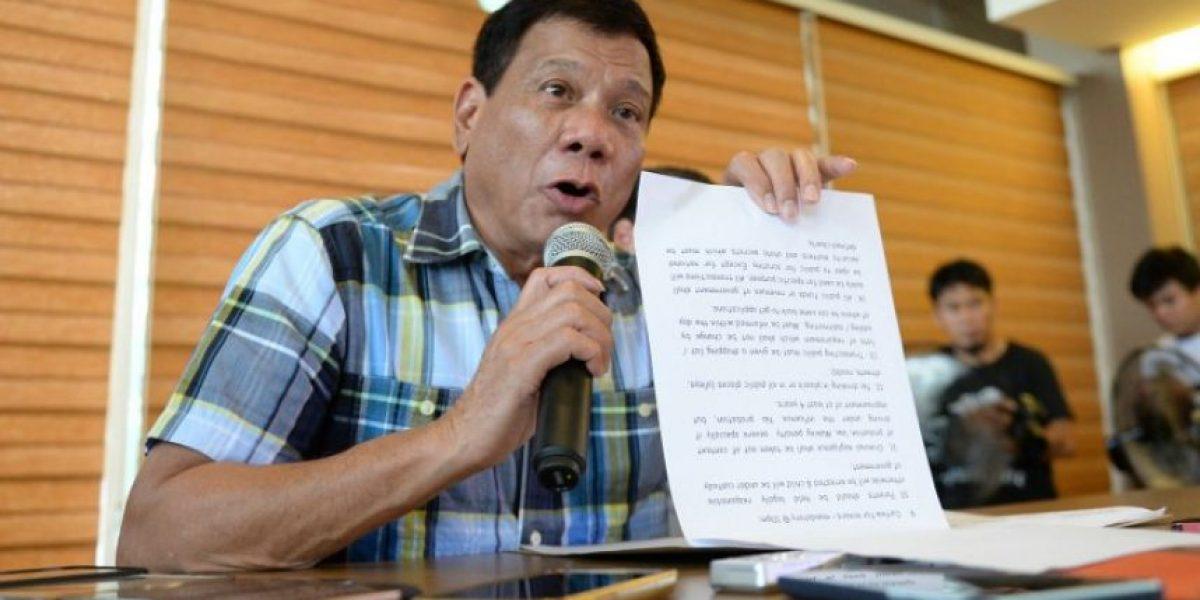 Presidente electo filipino promete restablecer pena de muerte y permitirá disparar a matar