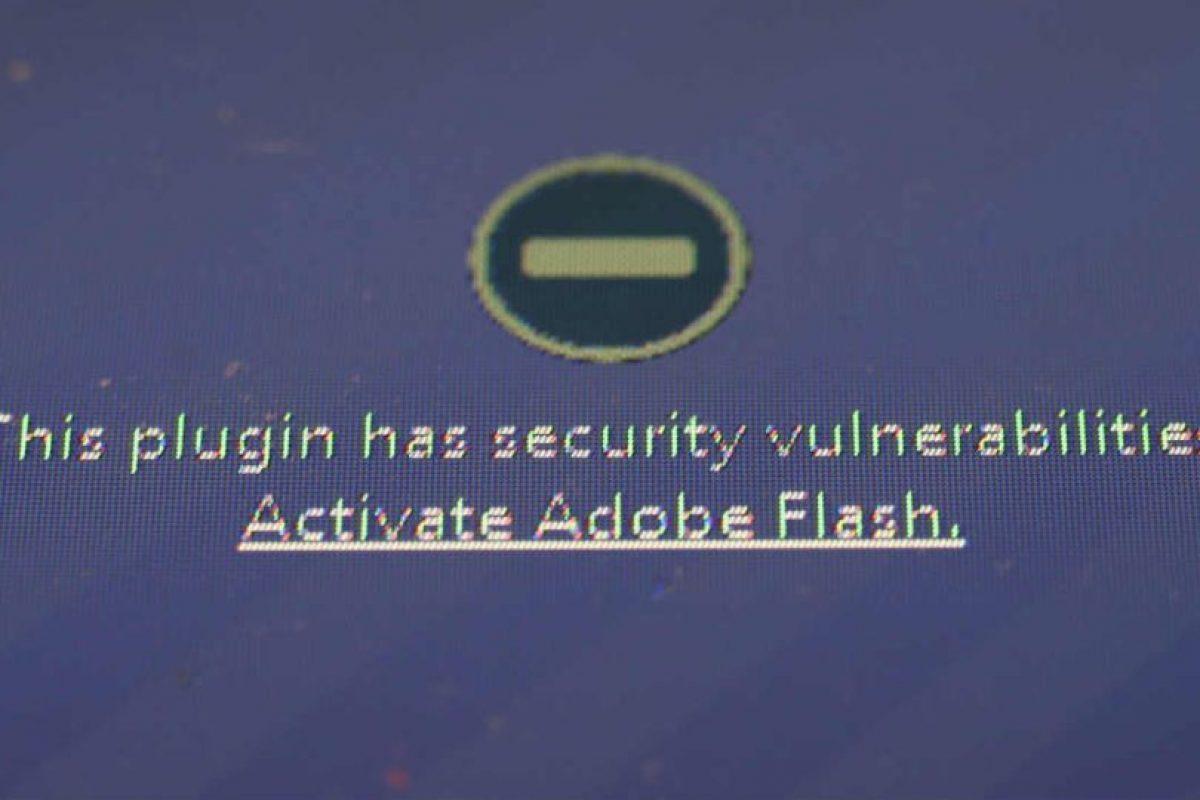 Otro motivo fue la falta de seguridad de Flash, que persistía aunque Apple trabajó con Adobe para resolverlo. Foto:Getty Images. Imagen Por: