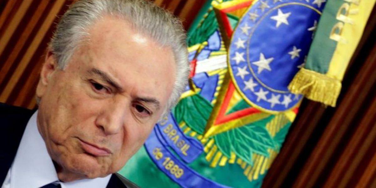 Temer aseguró que no es su intención ser candidato a presidente de Brasil en 2018