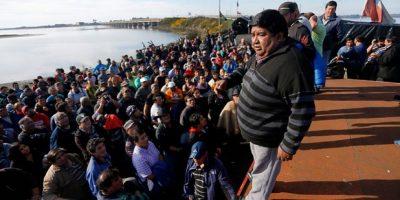 Marea roja: pescadores de Ancud sostienen cita clave y analizan futuro del conflicto