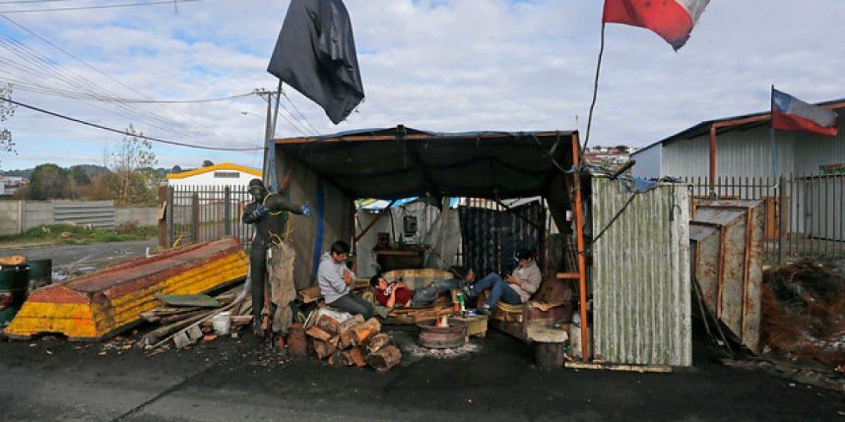 Gobierno y pescadores movilizados en Chiloé: