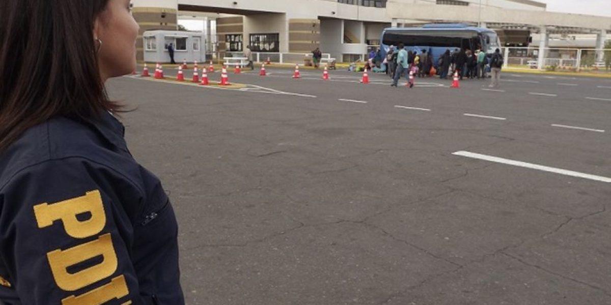 Menor que escapaba de su madre es detectado por la PDI en la frontera con Perú