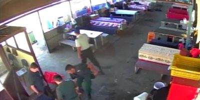 Video desclasifica agresión de gendarmes a reos en cárcel de Chillán
