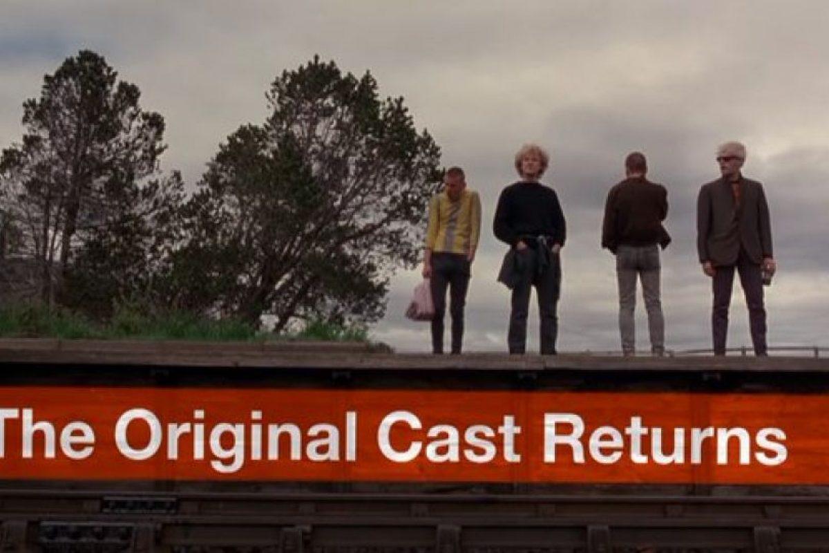 Con el elenco original Foto: Sony Pictures Releasing UK. Imagen Por: