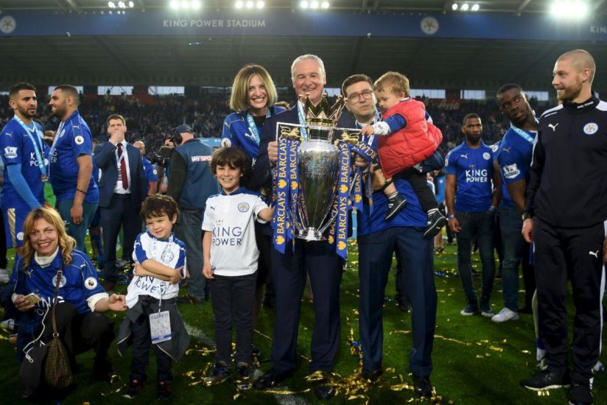 Llevó al Leicester al campeonato de la Premier League Foto:Getty Images. Imagen Por: