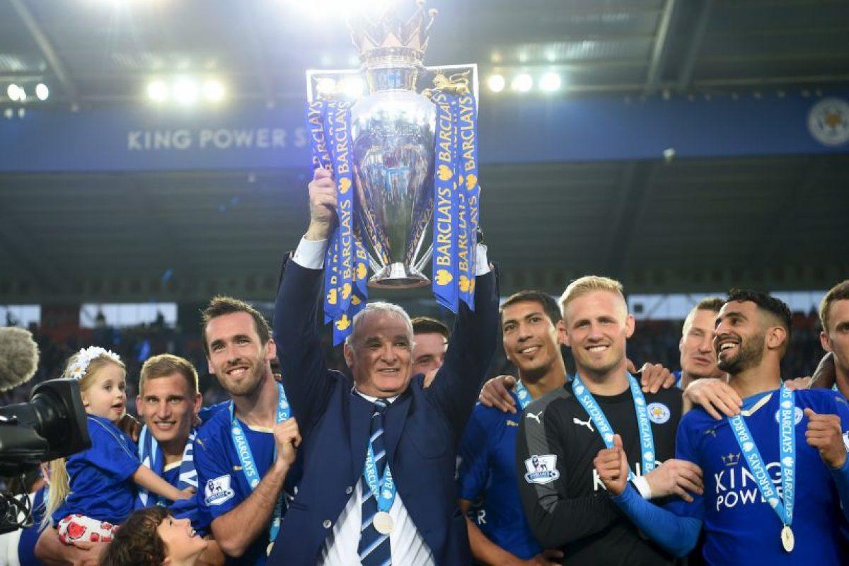 Claudio Ranieri hizo lo impensable Foto:Getty Images. Imagen Por: