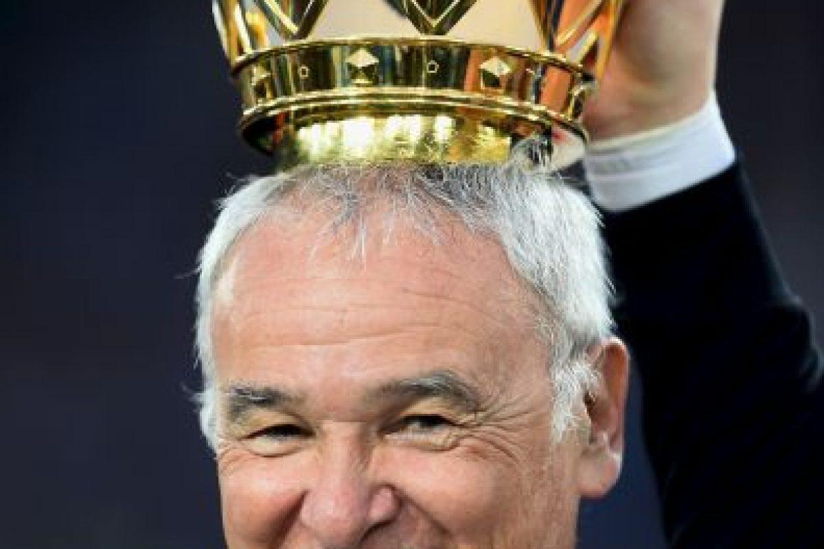 Ranieri nunca había levantado un título de Liga Foto:Getty Images. Imagen Por: