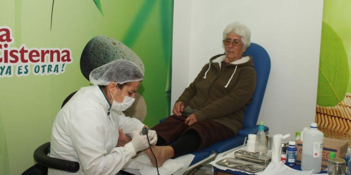 Centro podológico gratuito fue inaugurado en La Cisterna
