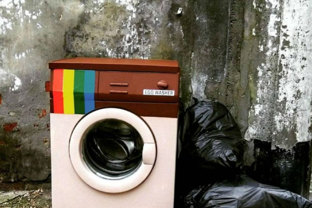 Biancoshock instalado 12 piezas en todo el pueblo de la provincia de Civitacampomarano. Foto:instagram.com/biancoshock/. Imagen Por: