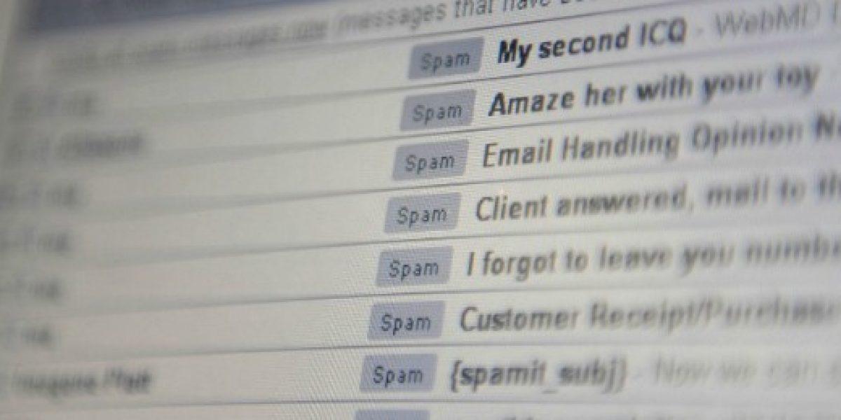 Trabajador chileno pierde 3 días laborales al año revisando correos spam