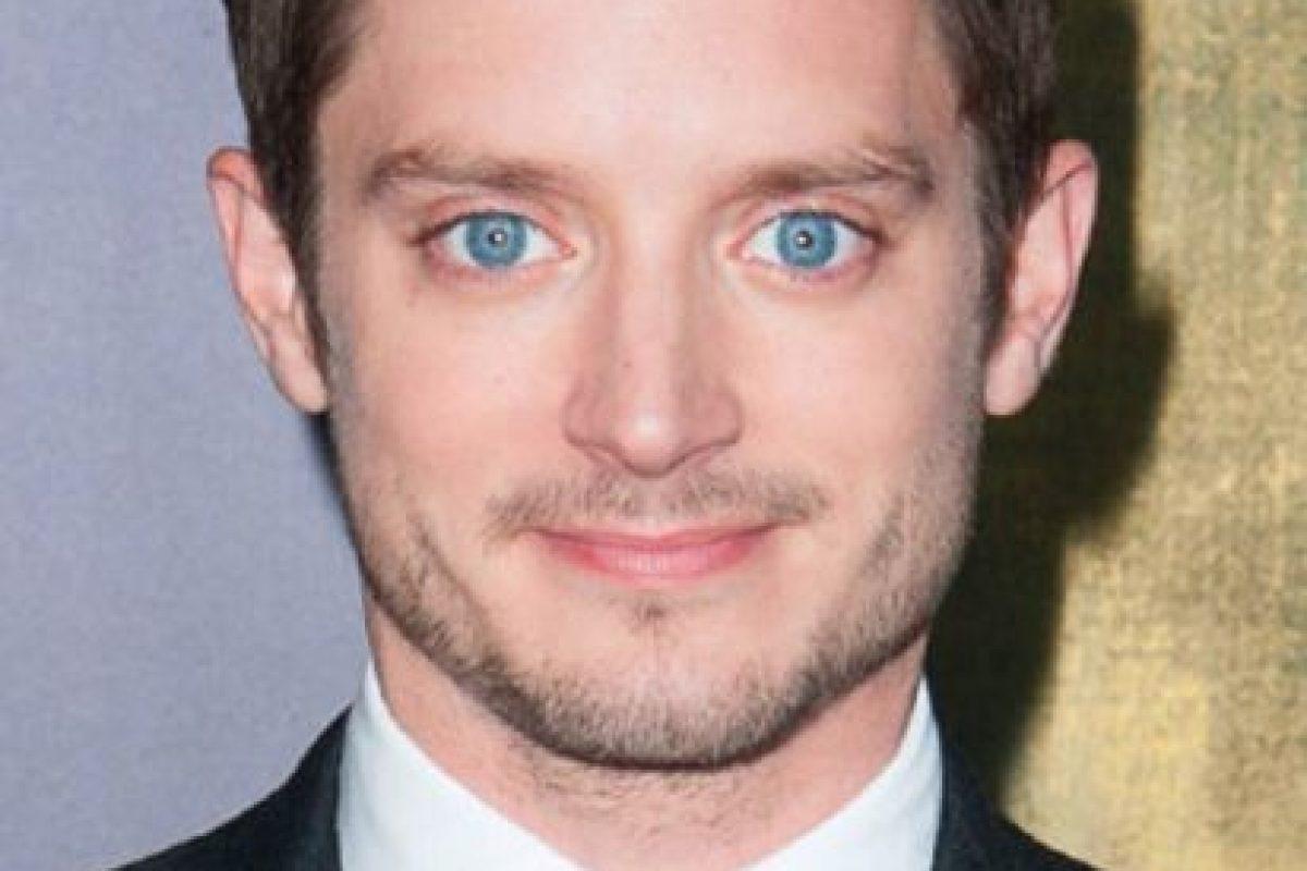 """Interpretó a Frodo en """"El Señor de los Anillos"""". Y así se quedó para siempre. Tiene su campo en el cine indie. Foto:vía Getty Images. Imagen Por:"""