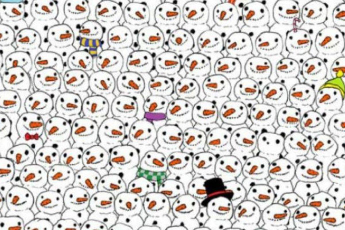 Encuentren al panda Foto:Twitter. Imagen Por: