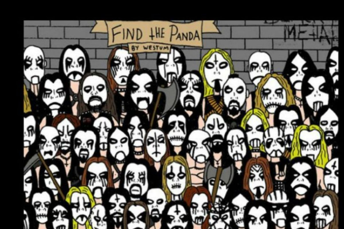 ¿Dónde está el panda? Foto:Twitter. Imagen Por: