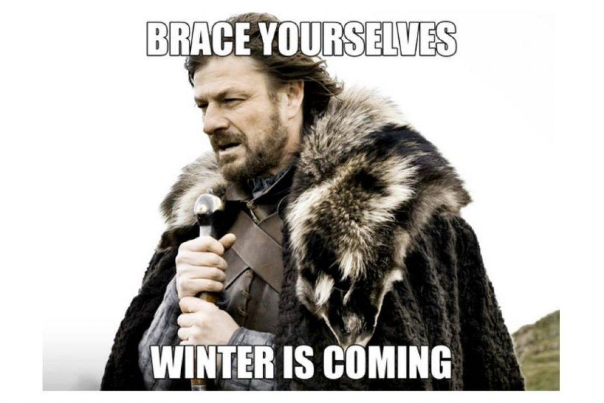 """Directo de """"Game of Thrones"""": """"Se avecina el invierno"""". Foto:Tumblr. Imagen Por:"""