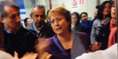 Presidenta Bachelet visitó a mujer golpeada en Coyhaique en la ex Posta Central