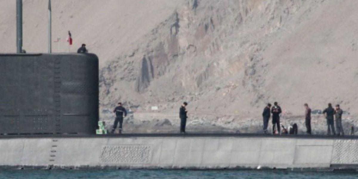 La polémica por submarino captado desembarcando cajas de cerveza en Iquique