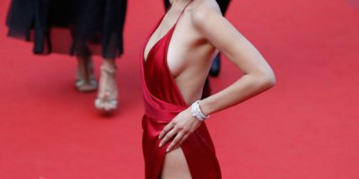 Cannes: Este es el vestido que se robó todas las miradas