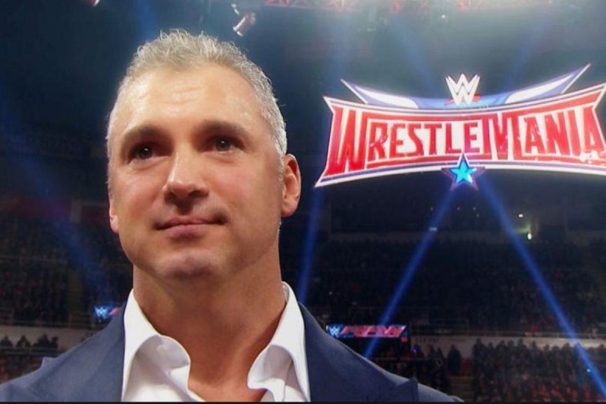 Shane cuenta con 2% de las acciones Foto:WWE. Imagen Por: