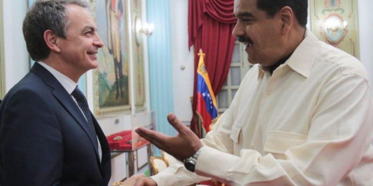 Nicolás Maduro se reúne con el ex presidente español Rodríguez Zapatero